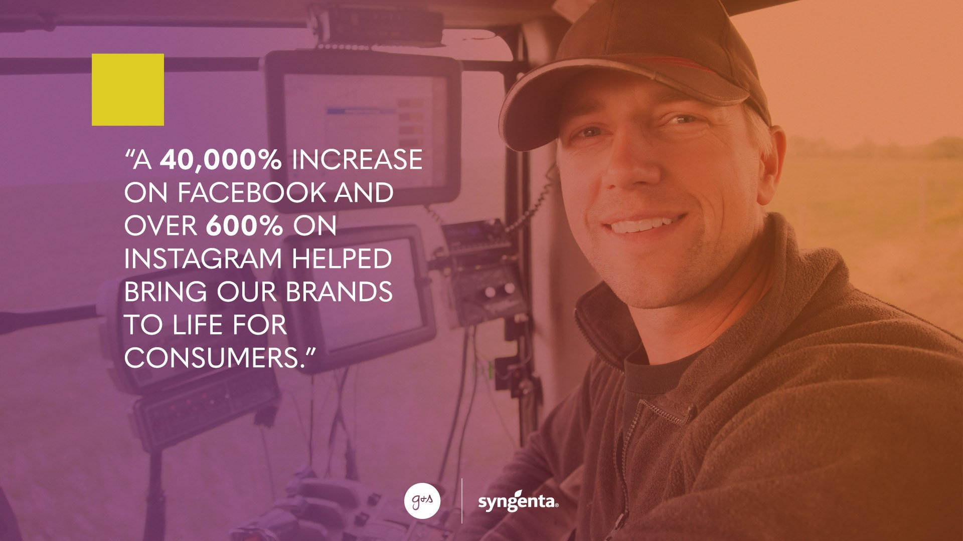 Syngenta_Digital Transformation_Weeds Waking Up_Social Quote_Increase on FB_IG