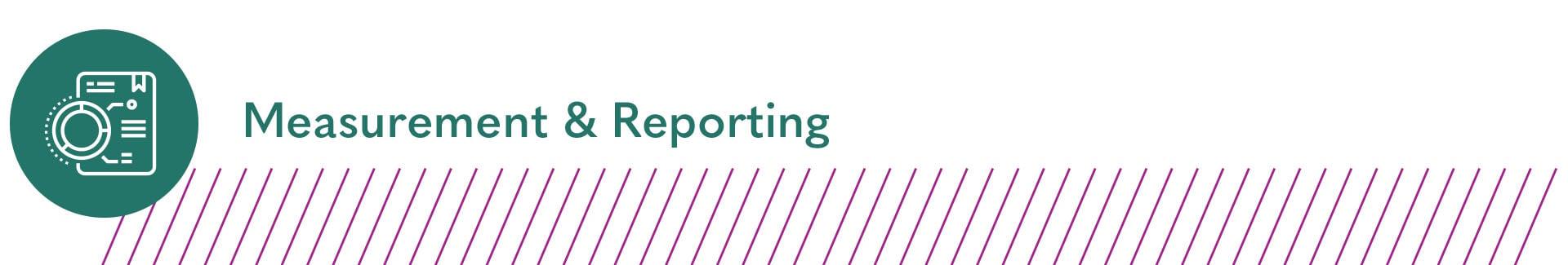Measurement & Reporting