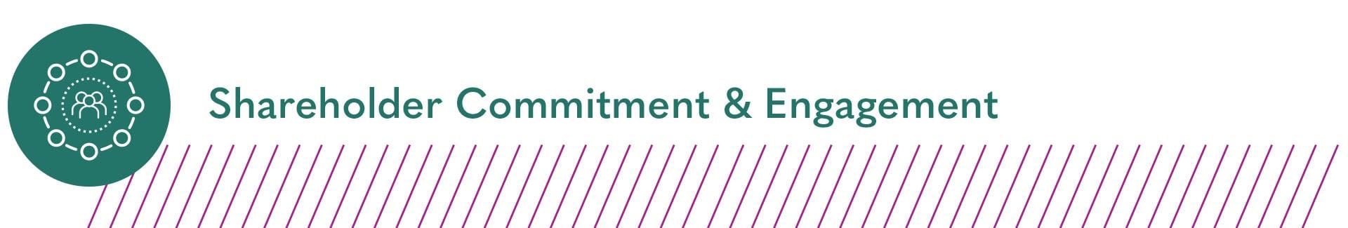 Shareholder Commitment & Engagement
